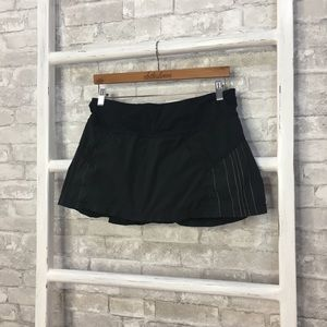 Lululemon Black Pleated Skirt Size 8
